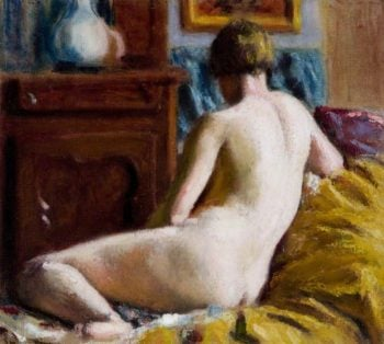 Reclining Nude | Roderic OConnor | oil painting