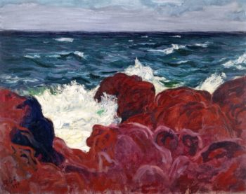 Red Rocks and Sea | Roderic OConnor | oil painting