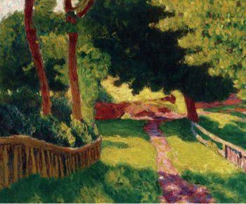 Sunny Landscape   Roderic OConnor   oil painting