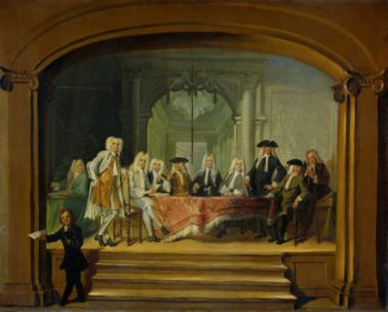 The Regents of the Aalmoezeniersweeshuis in Amsterdam