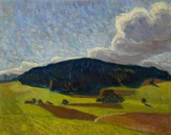 The Black Hill | Roderic OConnor | oil painting