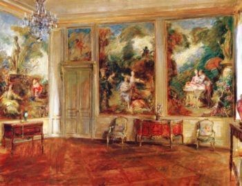 The Fragonard Room | Walter Gay | oil painting