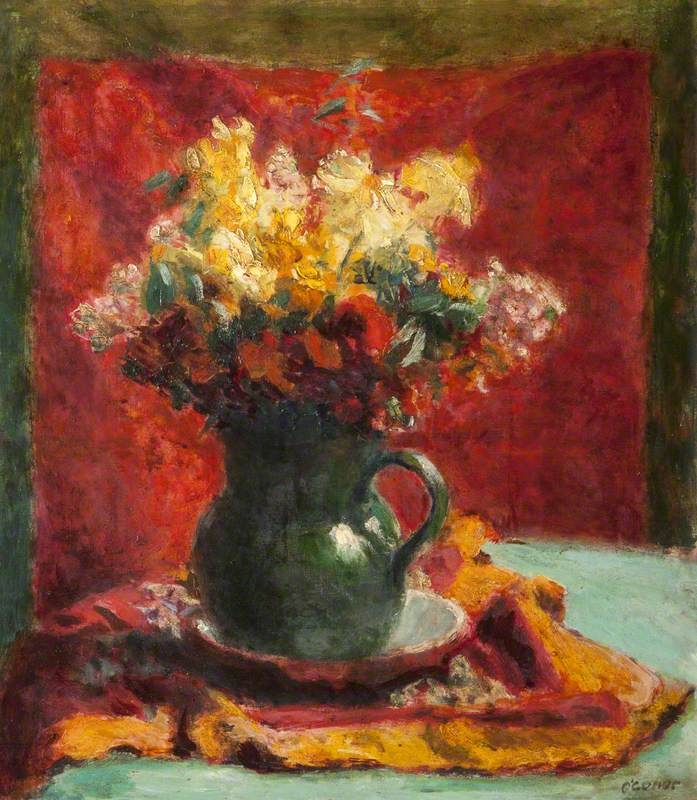 The Bouquet   Roderic OConnor   oil painting