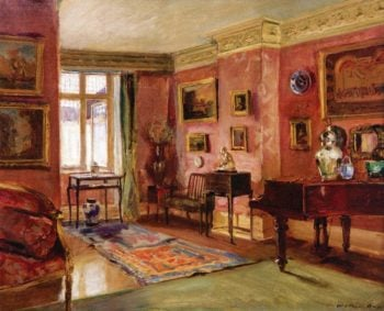 The Front Parlor | Walter Gay | oil painting