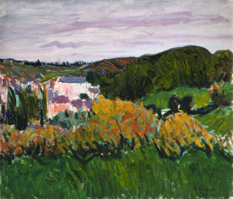 View of Pont Aven | Roderic OConnor | oil painting