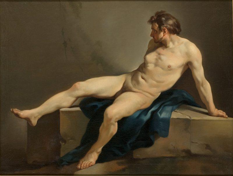 Academic Nude | Joseph Marie Vien | oil painting
