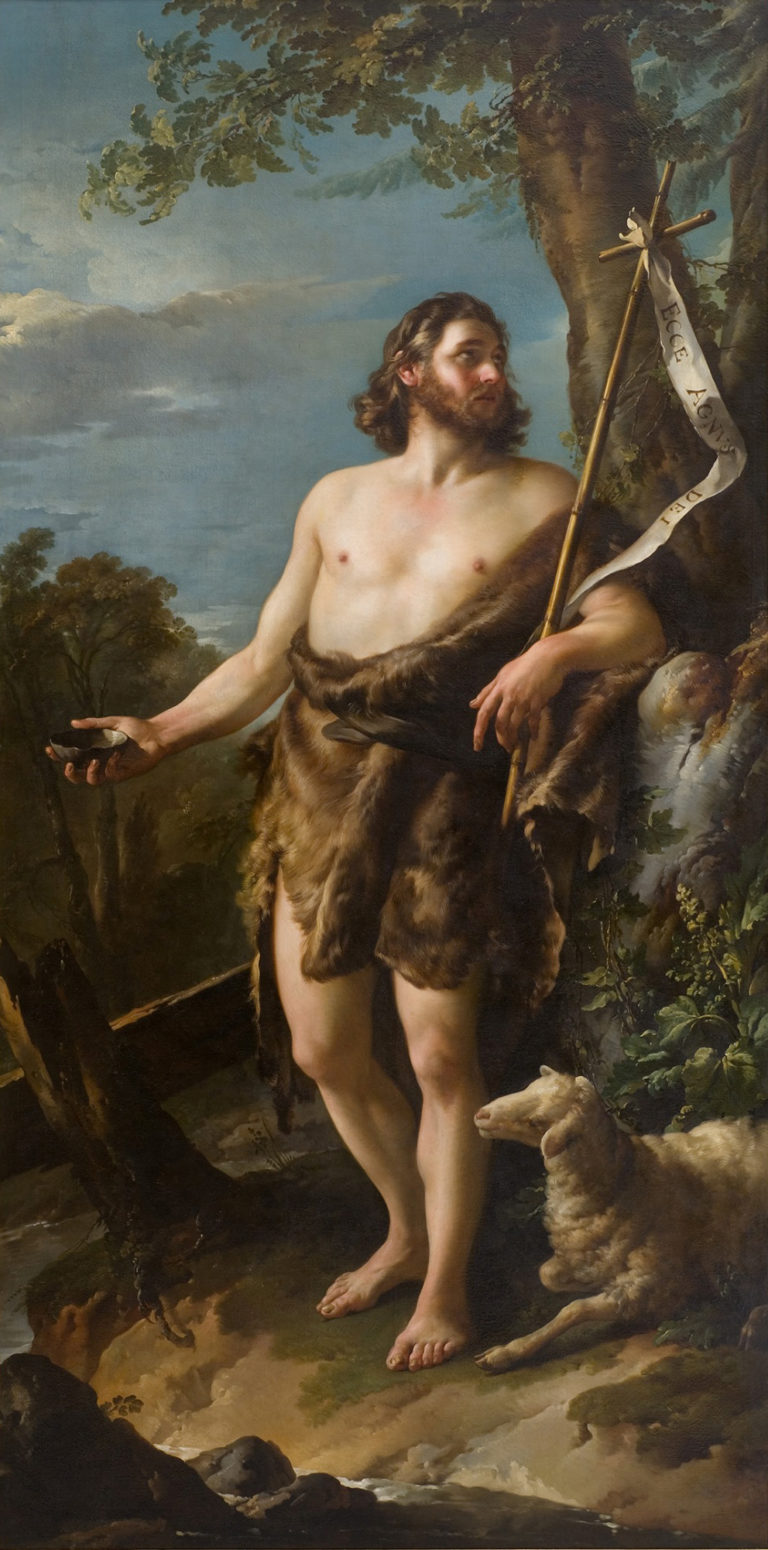Saint John the Baptist | Joseph Marie Vien | oil painting