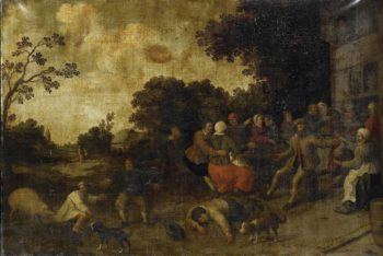 The prodigal son. 1600 - 1699 | Joost Cornelisz. Droochsloot | oil painting