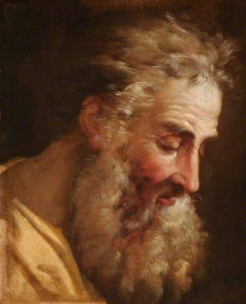 Study of the Head of an Old Bearded Man | Joseph Marie Vien | oil painting