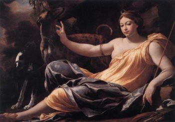 Diana | Simon Vouet | oil painting