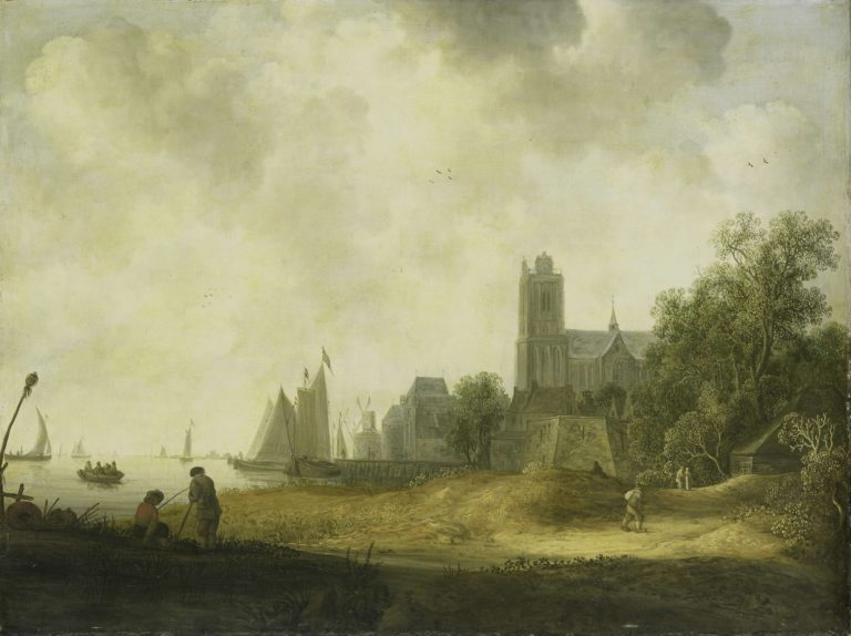 View of Dordrecht. 1643 | Wouter Knijff | oil painting