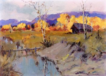 Autumn Morning | Sydney Mortimer Laurence | oil painting