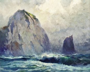 Cape St Elias | Sydney Mortimer Laurence | oil painting