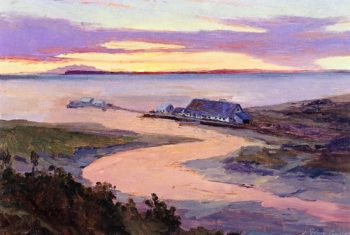 Emard Salmon Cannery | Sydney Mortimer Laurence | oil painting