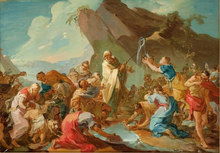 Miraculous Water | Joseph Marie Vien | oil painting