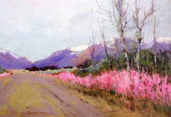 Fireweed Lane | Sydney Mortimer Laurence | oil painting