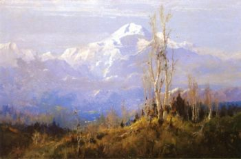 Mount McKinley | Sydney Mortimer Laurence | oil painting