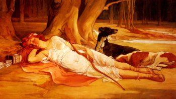 Diana | Talbot Hughes | oil painting