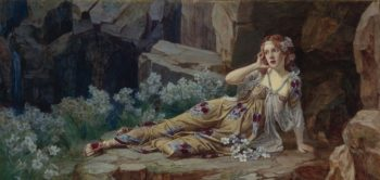 Echo | Talbot Hughes | oil painting