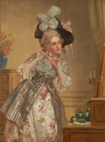 The Bow | Talbot Hughes | oil painting