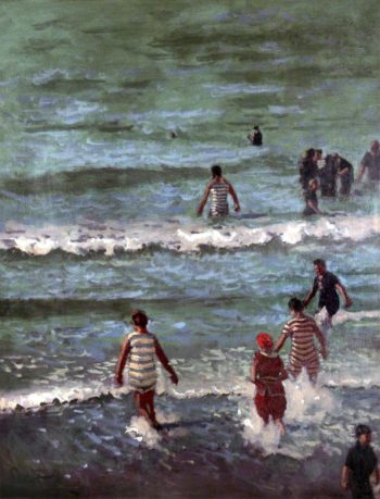 Bathers Dieppe | Walter Richard Sickert | oil painting