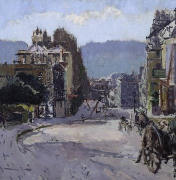 Belvedere Bath | Walter Richard Sickert | oil painting