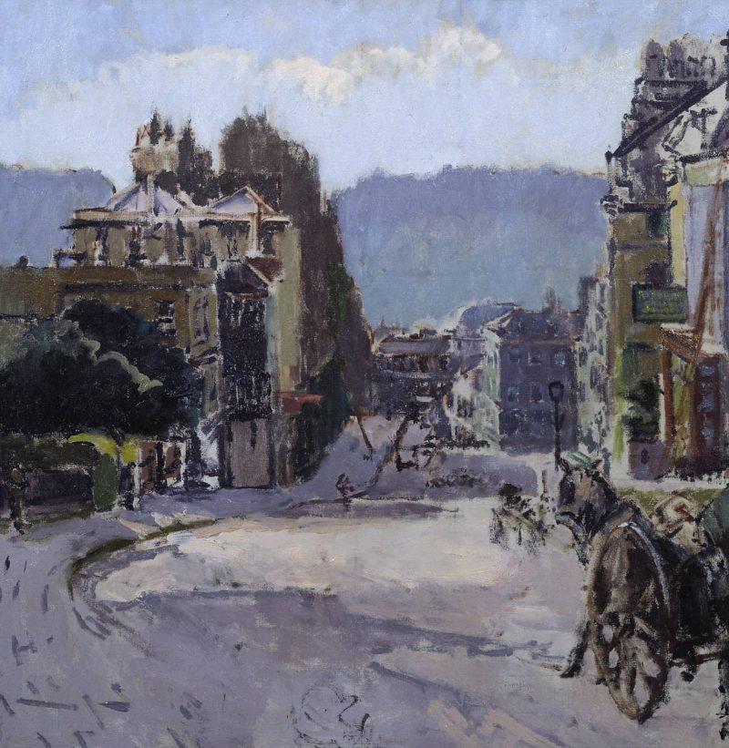 Belvedere Bath | Walter Richard Sickert | oil painting