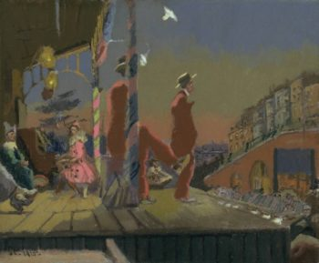 Brighton Pierrots | Walter Richard Sickert | oil painting