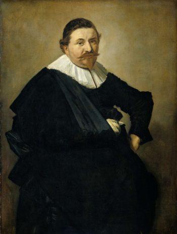 Portrait of Lucas de Clercq. ca. 1635 | Frans Hals | oil painting
