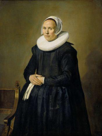 Portrait of Feyntje of Steenkiste. 1635 | Frans Hals | oil painting