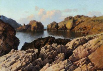 Sark | Frederick Judd Waugh | oil painting