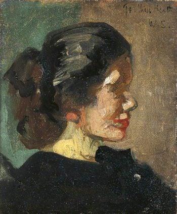 Ellen Heath | Walter Richard Sickert | oil painting