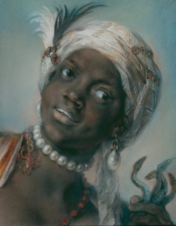 Africa | Rosalba Carriera | oil painting