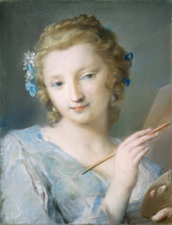 Allegory of Painting | Rosalba Carriera | oil painting