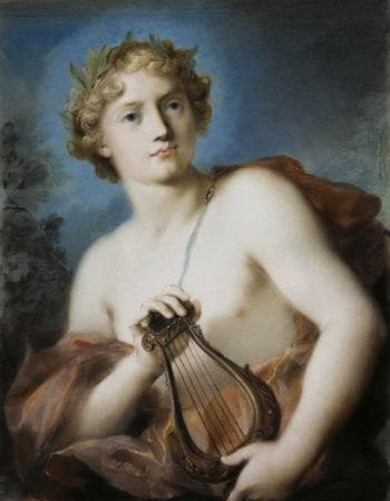 Apollo | Rosalba Carriera | oil painting