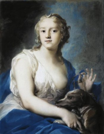 Diana | Rosalba Carriera | oil painting