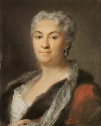 Elderly Lady | Rosalba Carriera | oil painting