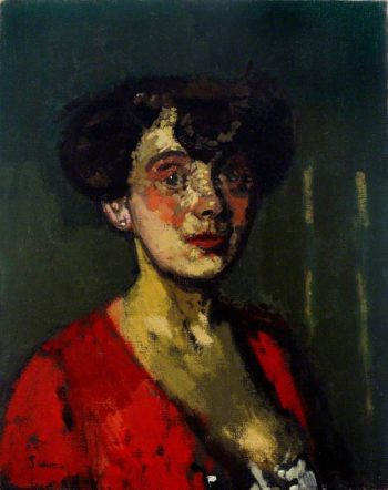 Head of a Woman | Walter Richard Sickert | oil painting