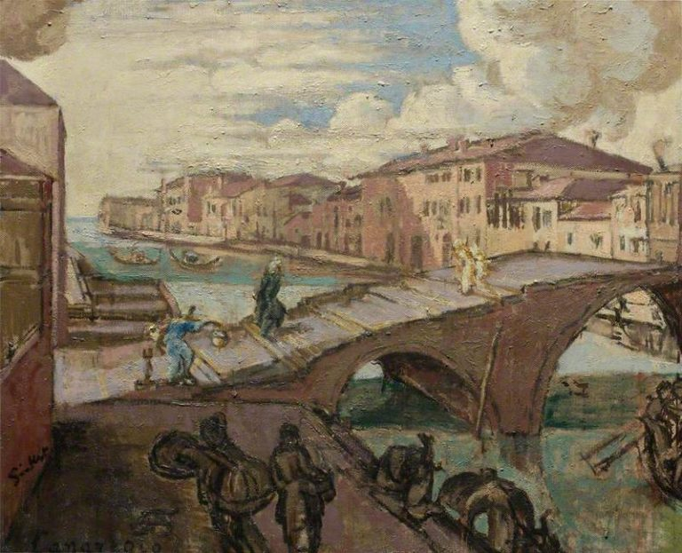 Il Cannaregio Venezia | Walter Richard Sickert | oil painting