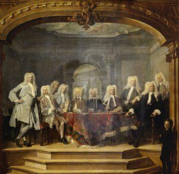 The Regents of the Aalmoezeniersweeshuis in Amsterdam