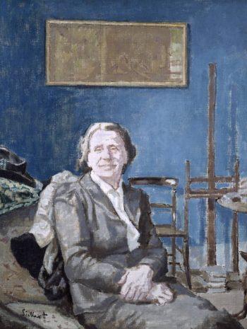 Lady Martin | Walter Richard Sickert | oil painting