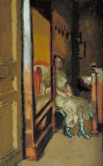 L Armoire a Glace | Walter Richard Sickert | oil painting