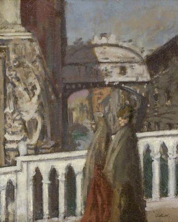 The Bridge of Sighs Venice | Walter Richard Sickert | oil painting