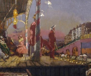 The Brighton Pierrots | Walter Richard Sickert | oil painting