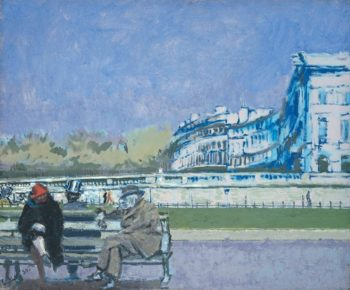 The Front at Hove | Walter Richard Sickert | oil painting