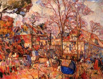 Autumn Composition II | Abraham A Manievich | oil painting