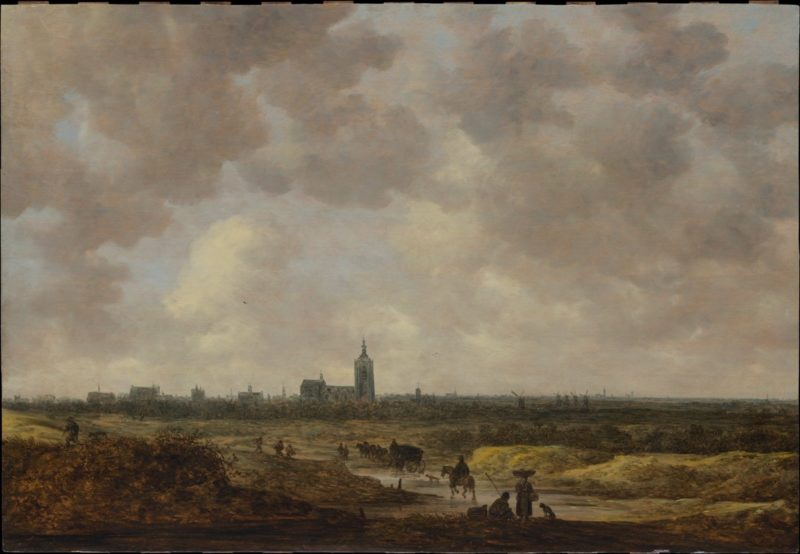 A View of The Hague from the Northwest | Jan Josefz van Goyen | oil painting