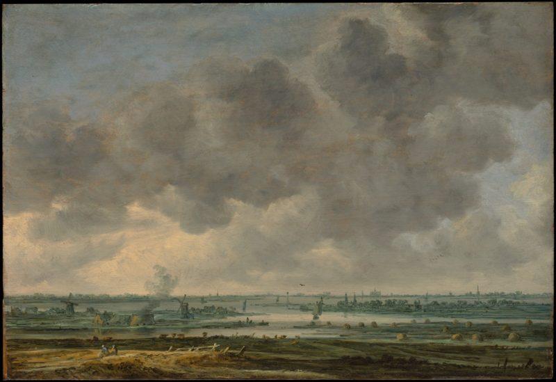 View of Haalem and the Haalemmer Meer | Jan Josefz van Goyen | oil painting