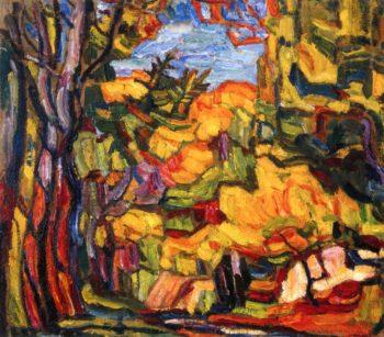 Autumn Kiev | Abraham A Manievich | oil painting