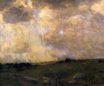 Chilmark Moore Marthas Vineyard | William Langson Lathrop | oil painting